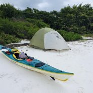 Canoe and Tent | Amy's Blinds on Marco Island, Florida