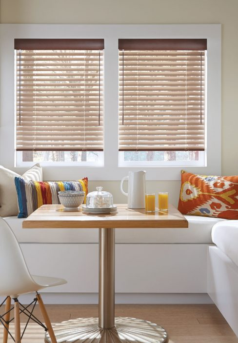 White Interior with Wooden Blinds | Amy's Blinds on Marco Island, Florida